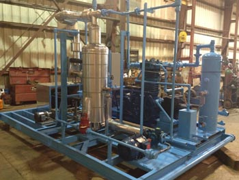 Modular gas processing system.